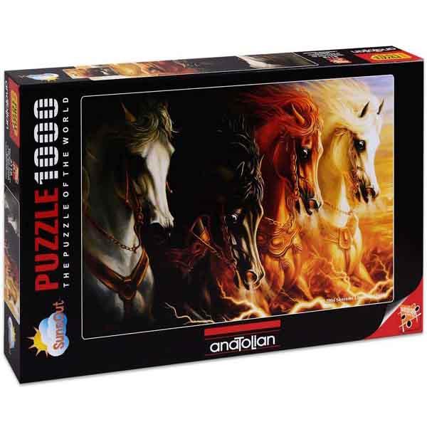 Пъзел Anatolian от 1000 части - Четирите коня на Апокалипсиса