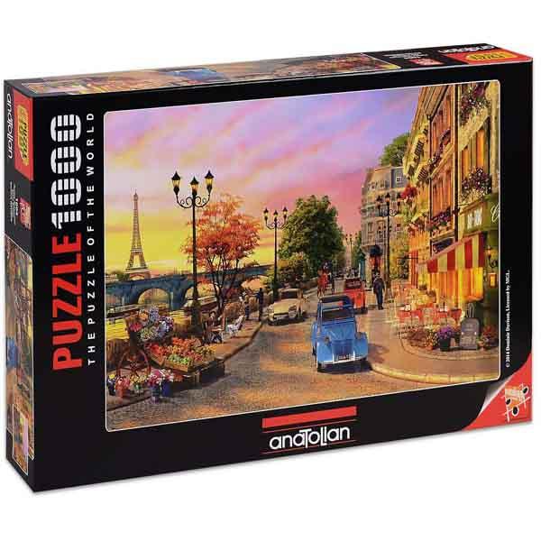 Пъзел Anatolian от 1000 части - Залез в Париж