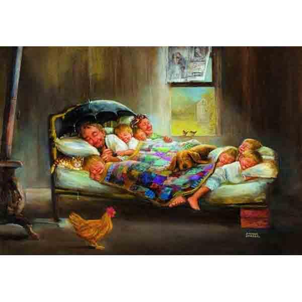 Пъзел Anatolian от 2000 части - Семейно щастие
