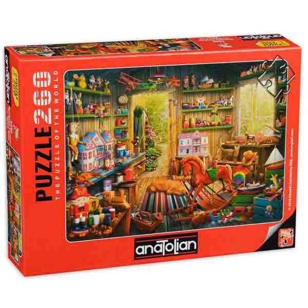 Пъзел Anatolian от 260 части - Работилница за играчки, Едуард