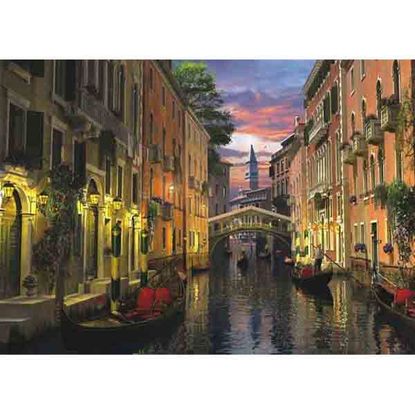 Пъзел Anatolian от 3000 части - Венеция по здрач