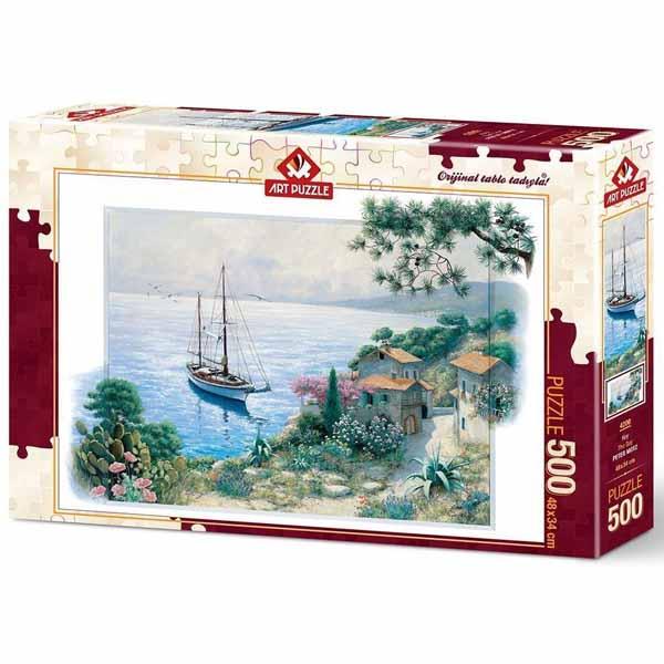 Пъзел Art Puzzle от 500 части - Заливът, Питър Моц