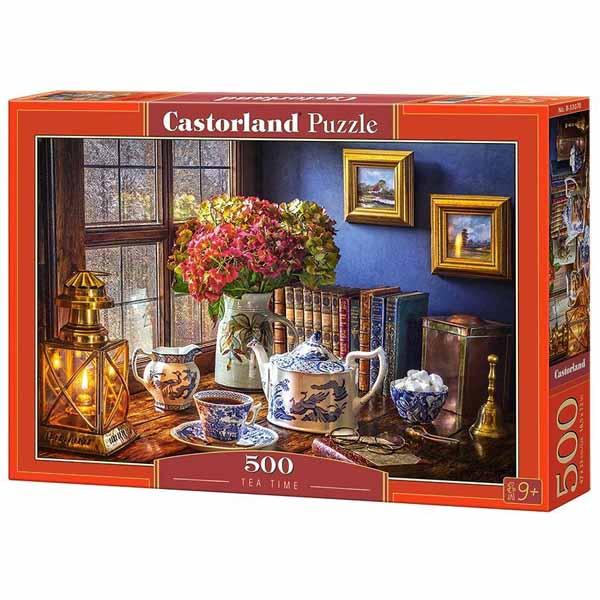 Пъзел Castorland от 500 части - Време за чай