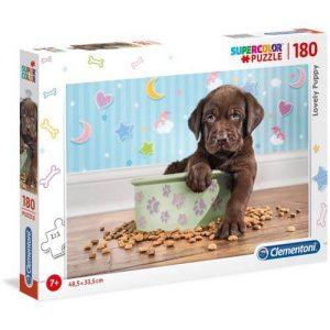 Пъзел Clementoni от 180 части - Прекрасно кученце