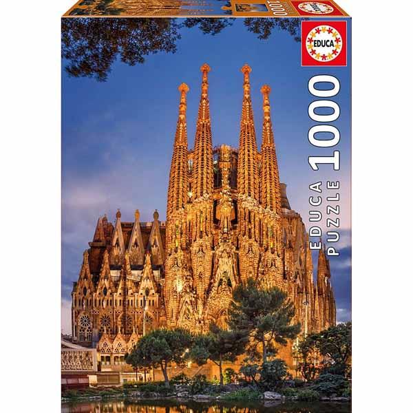 Пъзел Educa от 1000 части - Саграда Фамилия, Барселона
