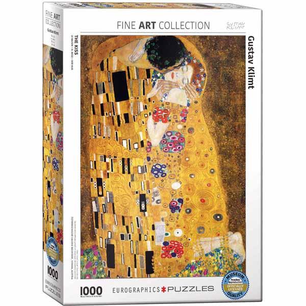 Пъзел Eurographics от 1000 части – Целувката, Густав Климт