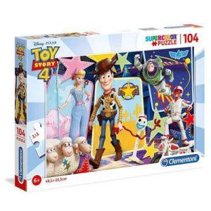 Пъзел за оцветяване Clementoni от 104 части - Toy Story 4