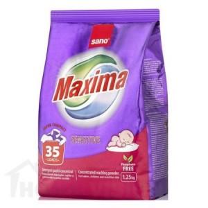 Прах за пране Sano Maxima Sensitive 1.25 кг