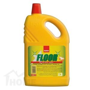 Препарат за почистване на под Sano Floor Fresh Портокал 3л