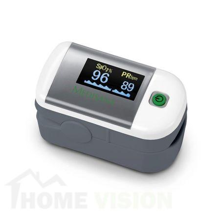 Уред за измерване нивото на кислород в кръвта и сърдечния пулс Medisana Pulse oximeter PM 100