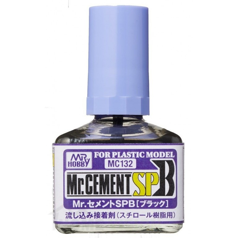 MC-132 Лепило Mr. Cement SPB (Black) (40 ml)