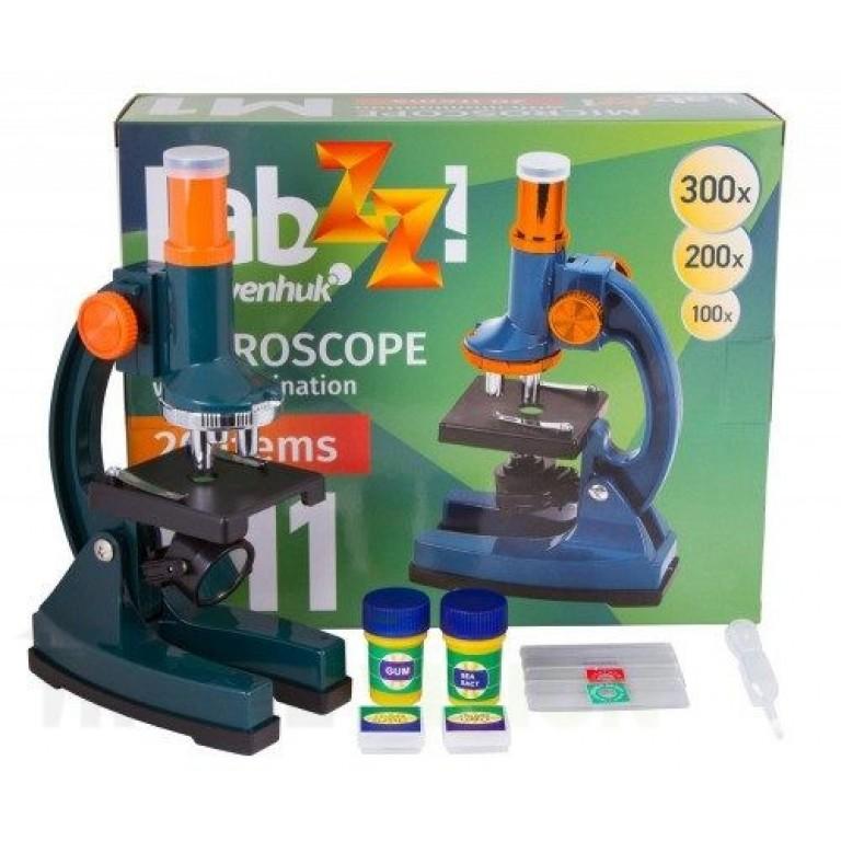 Микроскоп за млади изследователи Levenhuk LabZZ M1