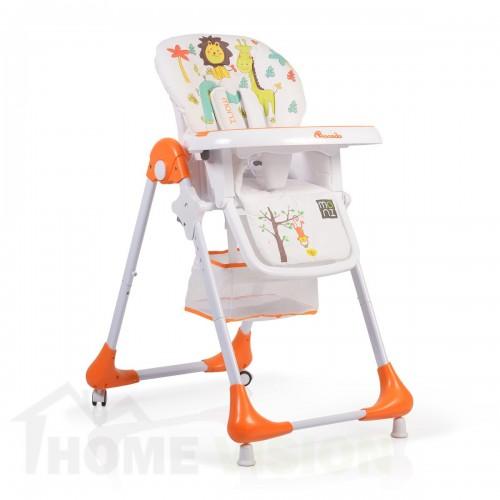 Детско столче за хранене Moni Avocado