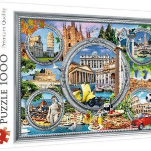 Пъзел Trefl от 1000 части - Италия