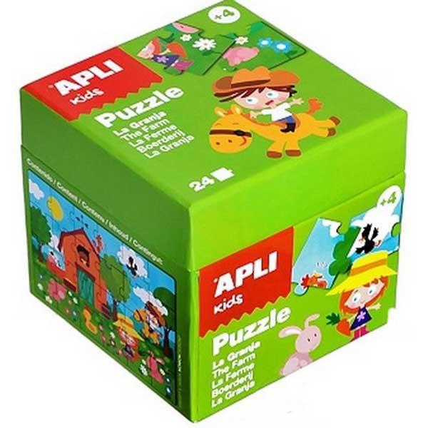 Детски пъзел APLI Kids от 24 части - Ферма