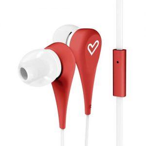 Слушалки Energy Sistem - Earphones Style 1+, червени