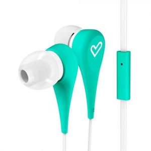 Слушалки Energy Sistem - Earphones Style 1+, mint