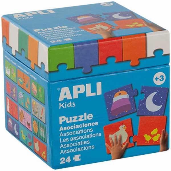 Образователен пъзел APLI от 24 части - Асоциации