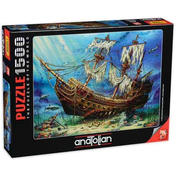 Пъзел Anatolian от 1500 части - Потънал кораб