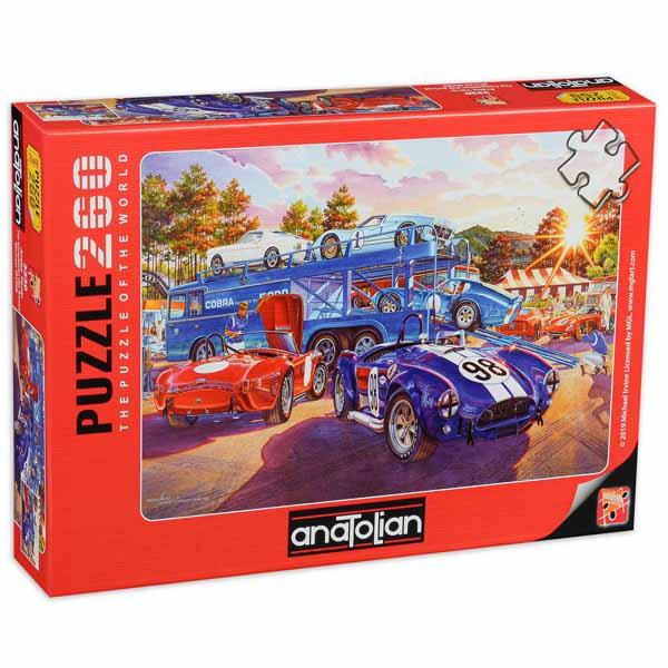 Пъзел Anatolian от 260 части - Състезателни коли