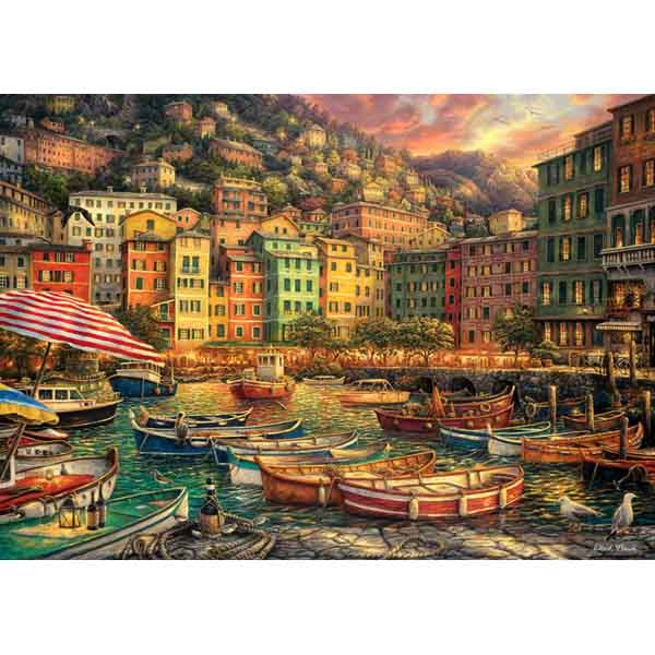 Пъзел Anatolian от 3000 части - Пристанище в Италия