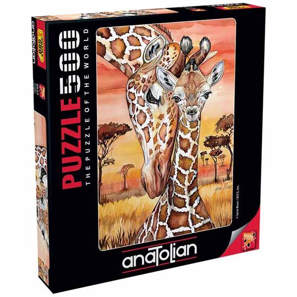 Пъзел Anatolian от 500 части - Жираф
