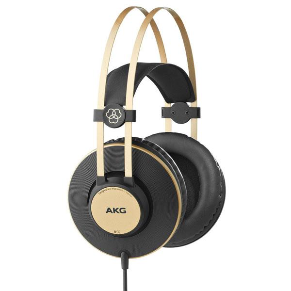 Слушалки AKG K-92 - черни/златисти