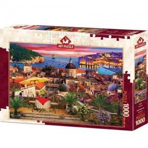 Пъзел Art Puzzle от 1000 части - Дубровник, Хърватия