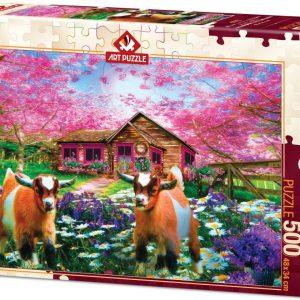 Пъзел Art Puzzle от 500 части - Когато пролетта идва