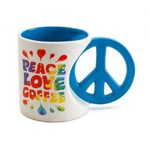 Чаша BigМouth Peace Love Coffee, 600ml