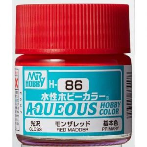 H-086 Gloss Red Madder (10ml) - Mr. Color for Car Models