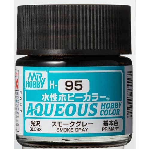 H-095 Gloss Smoke Grey (10ml) - Mr. Color for Car Models