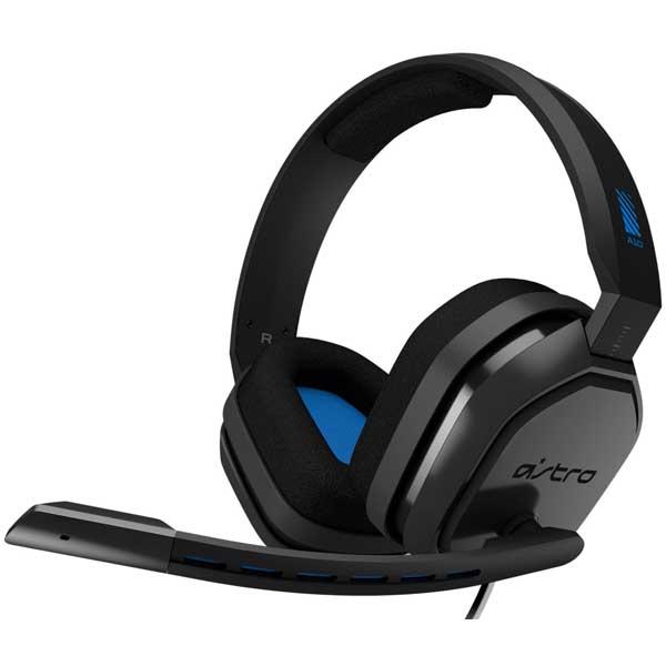 Гейминг слушалки Astro - A10 Gen1 за PS4, сиви/сини