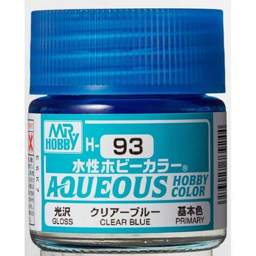 H-093 Gloss Clear Blue (10ml) - Mr. Color