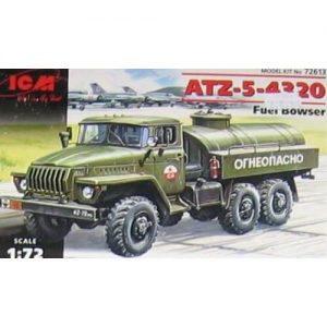 1:72 Руски камион цистерна АТЗ-5-4320 /ATZ-5-4320/