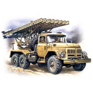 1:72 Съветска система за залпов огън ЗИЛ-131 БМ13-16 (Multiple Launch Rocket System on ZiL-131 base BM-13-16)