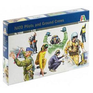 1:72 Пилоти и наземно обслужване - 90-те години НАТО - 48 фигури