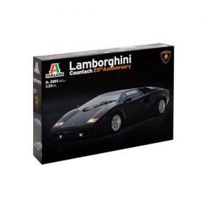 1:24 Автомобил Ламборгини Каунтач, 25-та годишнина (LAMBORGHINI COUNTACH 25th Anniversary)