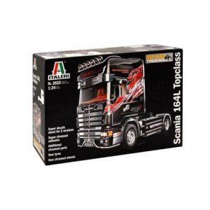 1:24 Камион влекач Скания 164Л Топклас (SCANIA 164L TOPCLASS SHOWTRUCK )