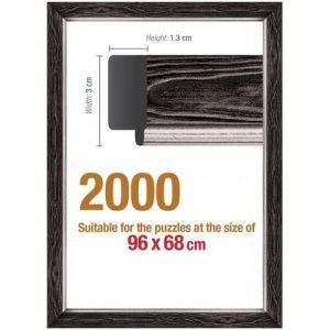 Рамка за пъзел Art Puzzle - Черна за 2000 части