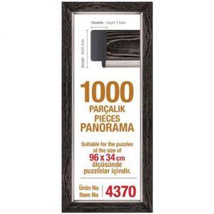 Рамка за панорамен пъзел Art Puzzle - Черна за 1000 части