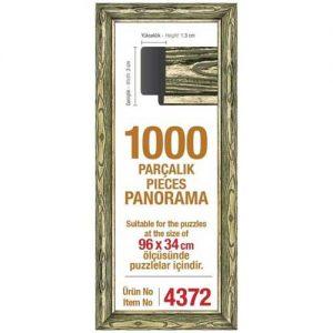 Рамка за панорамен пъзел Art Puzzle - Златиста за 1000 части