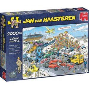 Пъзел Jumbo от 1000 части - Формула 1, Ян ван Хаастерен