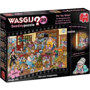 Пъзел-загадка Jumbo от 1000 части - Магазинът за играчки