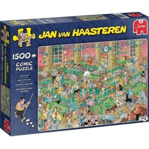 Пъзел Jumbo от 1500 части - Chalk Up, Ян ван Хаастерен