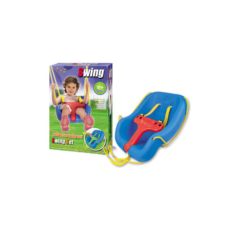 Детска въжена люлка с предпазен борд King Sport