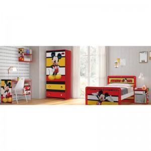 Комплект мебели за детска стая Мики Маус