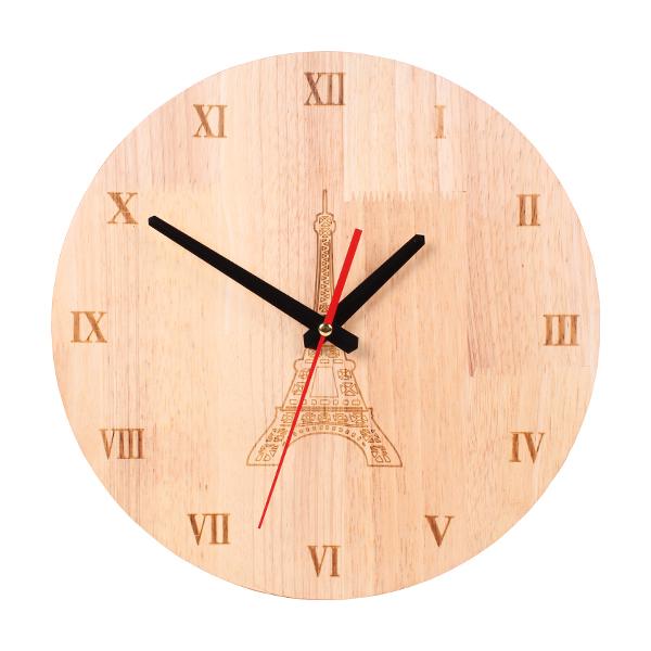 Декоративен дървен часовник D - 3