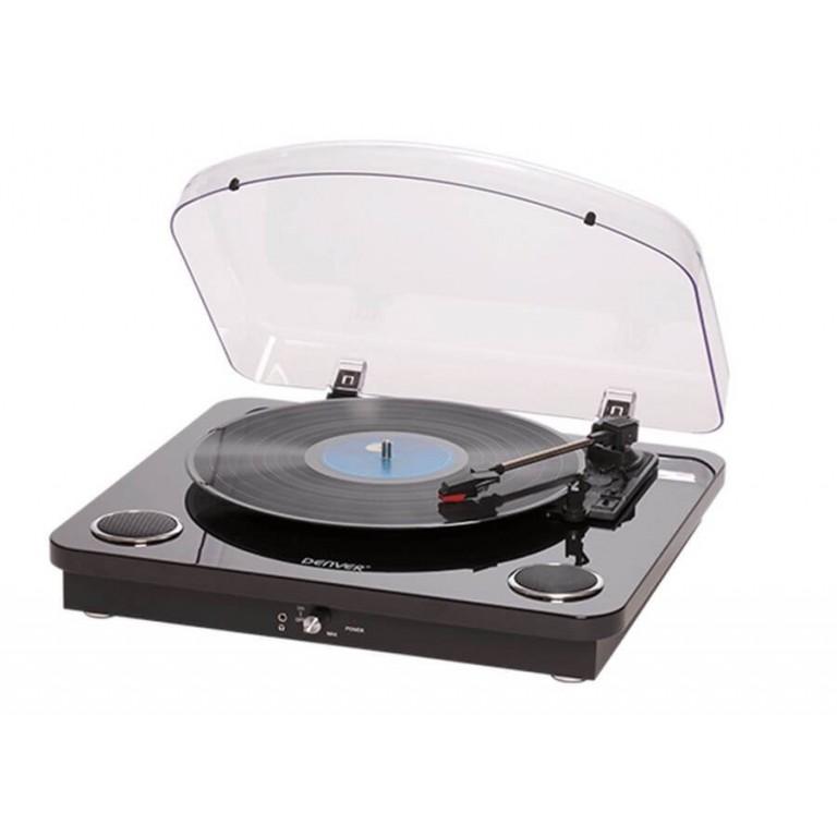 Грамофон Denver - VPL-200, черен