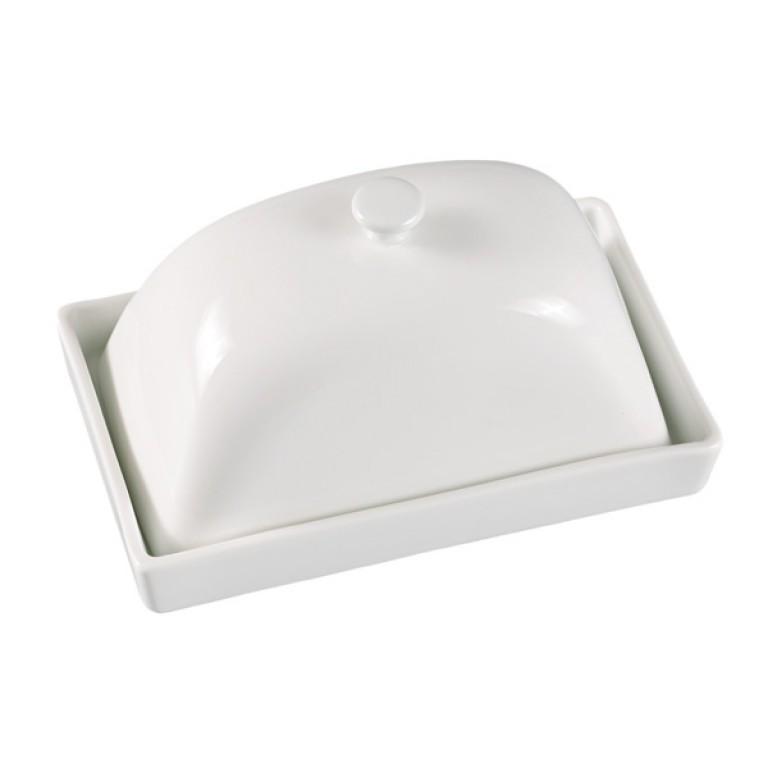 Кутия за масло LF FR-9409W, 16 cm, бял